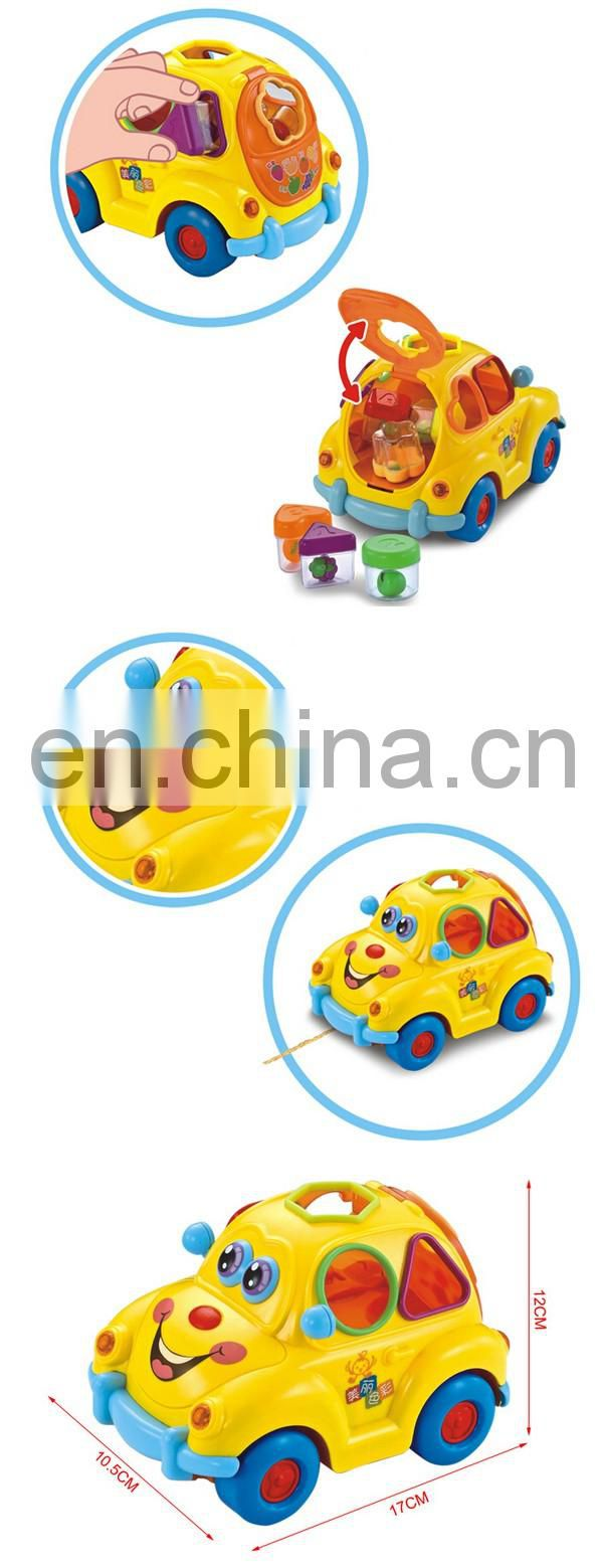 Musical children fruit electric toy car price for good sale