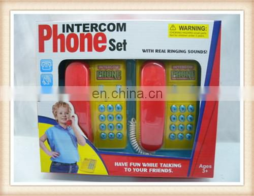 new style plastic toys phones walkie talkie for kids