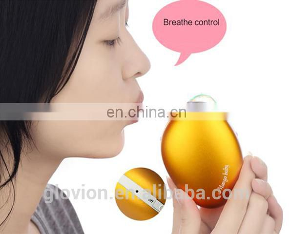 New design small hand warmer with bank power mango shape hand warmer USB rechargeable hand warmer