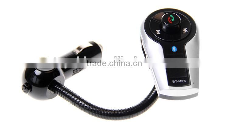 Universal Bluetooth Car Kit MP3 Player FM Transmitter Bluetooth LCD Car Kit MP3 Player Transmitter Car Charger