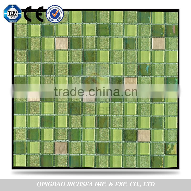 Brand New Bathroom Decoration Glass Mosaic Tiles