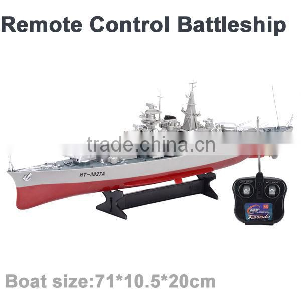 remote control boat 1:360 battleship toy