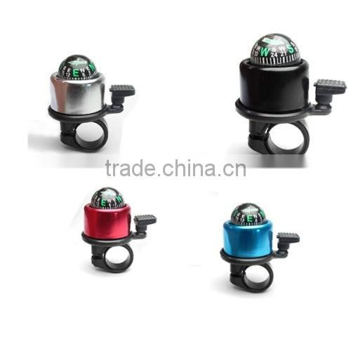 DIHAO Aluminium Alloy Compass Ring Handlebar Bell Sound Alarm for Bike Bicycle Cute Cycling Bell Compass14232