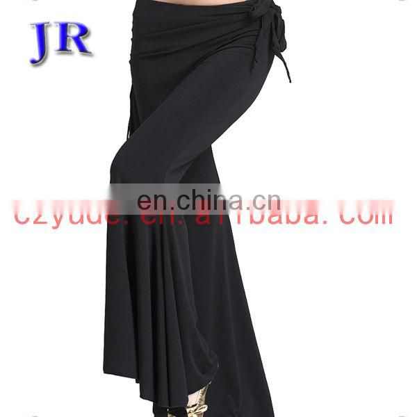 Cheap long women belly dance wear pants K-4008#