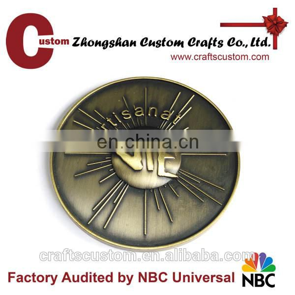 Advertising Country co-worker Souvenir metal coin for business gifts