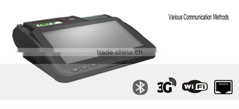 Android Biometric POS Machine with Fingerprint Scanner, Card