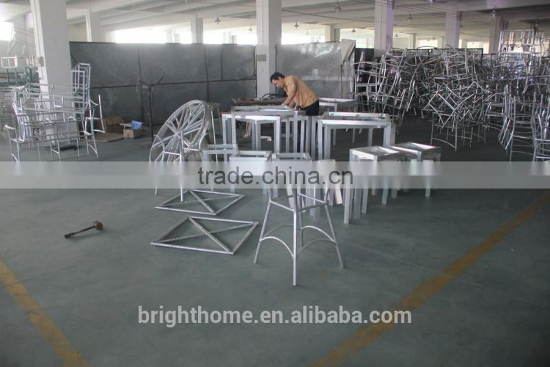 Aluminum Dining Set/Wicker Garden Furniture/Outdoor Furniture (BG-MT018A)