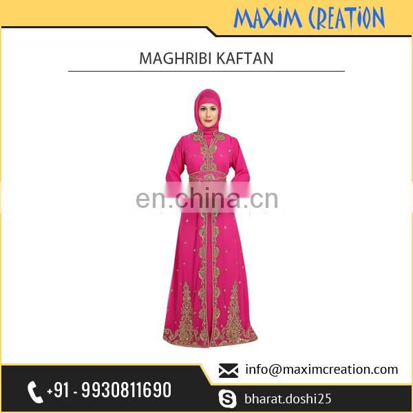 Designer Wear Maghribi Caftan Available for Wedding Occasion