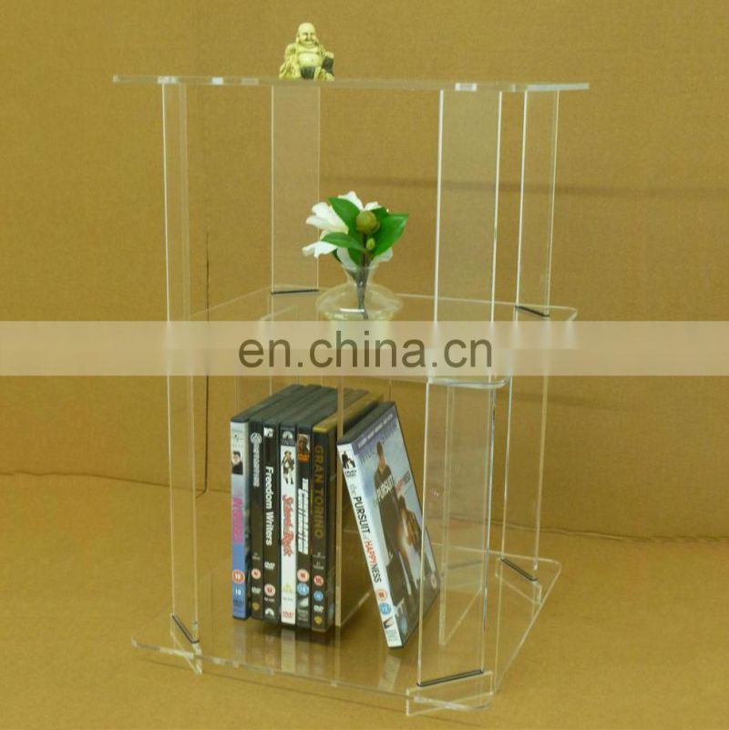 living room clear acrylic furniture plexiglass side tables