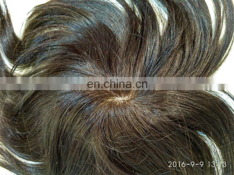 High quality reasonable price natural toupee,best selling cheap toupee for men