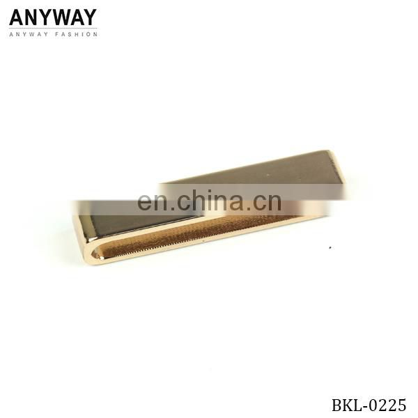 Guangzhou Gold plated D ring metal buckle for belt