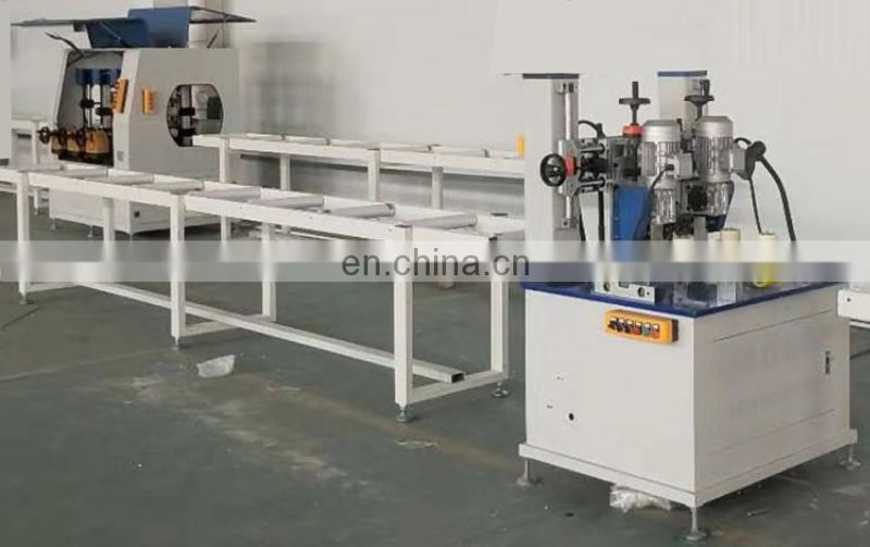 KCJ Knurling and strip feeding machine for aluminum windows and doors