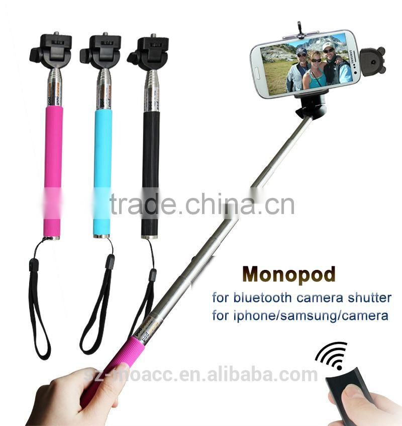 Factory Price Extendable Handheld monopod selfie stick