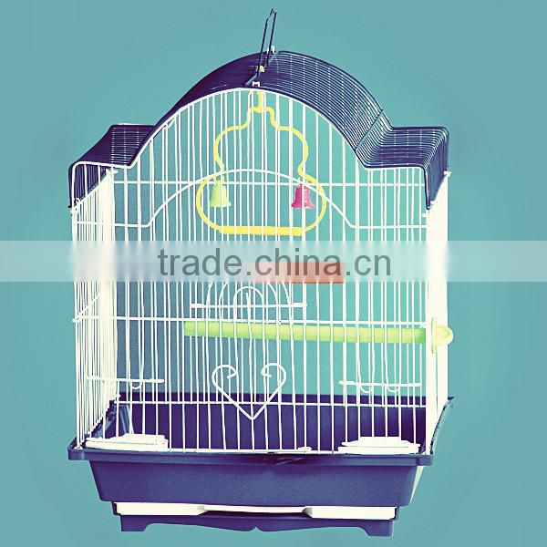 foldable steel wire metal birdcages, bird breeding house for lark