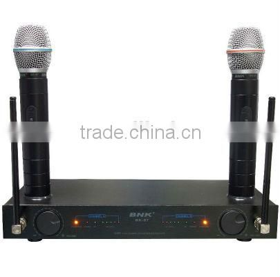 professional outdoor UHF fm wireless microphone