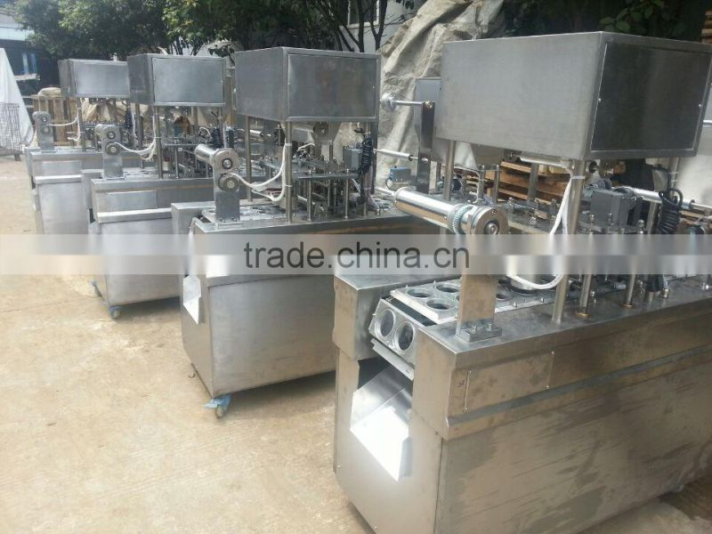 GD series Auto Fill Seal Machine / Auto Cup Sealing Machine