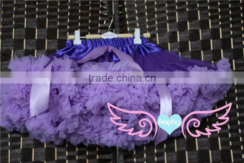 new style purple with lavender Christmas Baby Girl Pettiskirt,Child tutu in wholesale