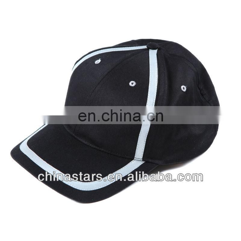 fashion breathable cotton high vis reflective cap