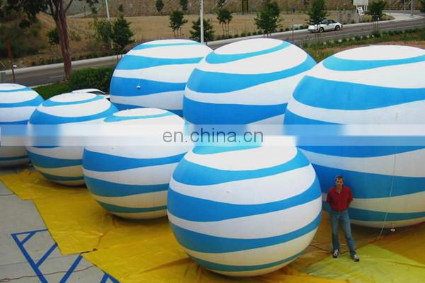 Giant inflatable balloons for outdoor decoration