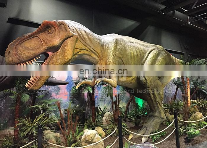 High Simulation Lifesize Robotic Dinosaur T-rex For Sale