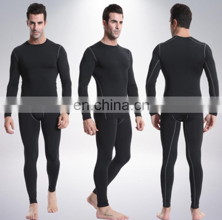 Gym Men Training Workout Fitness Clothing Long Sleeve Sport Shirt