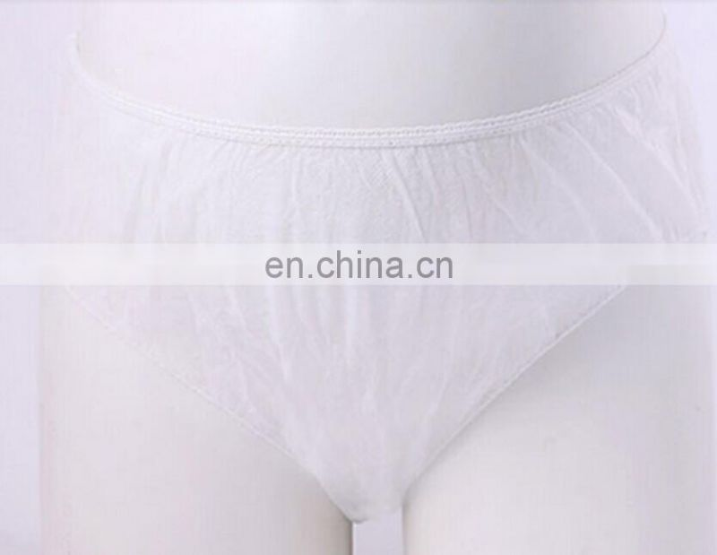 ladies disposable Nonwoven SPA T-back underwear G-string pants