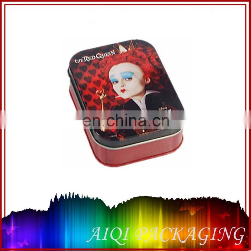 2016 newest hot selling gift cards packaging tin box