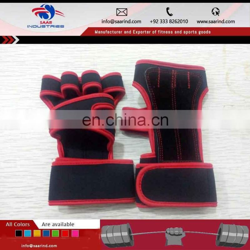 Custom Silicone Workout Gloves Protector Type Non-slip Gym Neoprene Gloves