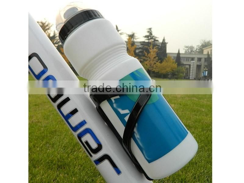 Non-toxic PVC plastic material Bike bottle Bicycle Kettle Sports Water Bottles