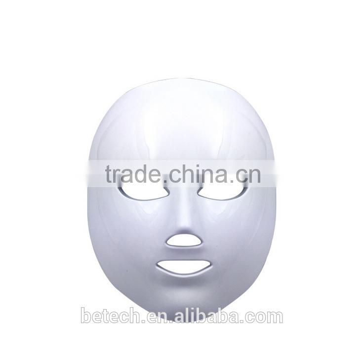 hot sale 7 colour LED skin rejuvenation lamp facial mask