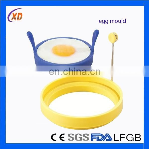 Cooking Silicone Egg Mold/Silicone Egg star Rings/Silicone egg fried shaper