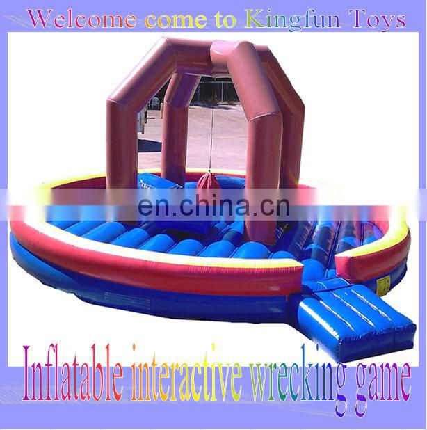 3.5M inflatable football kick cage/inflatable amusement toy