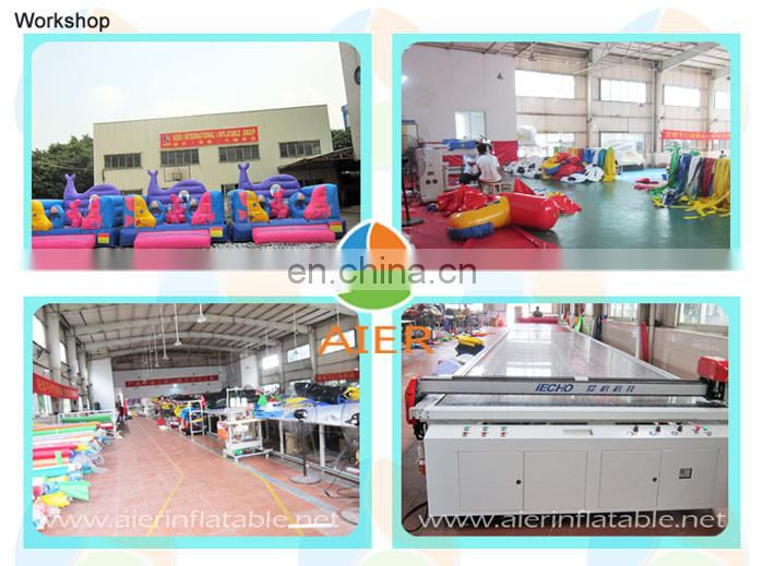 Large inflatable playland, kids playland inflatable