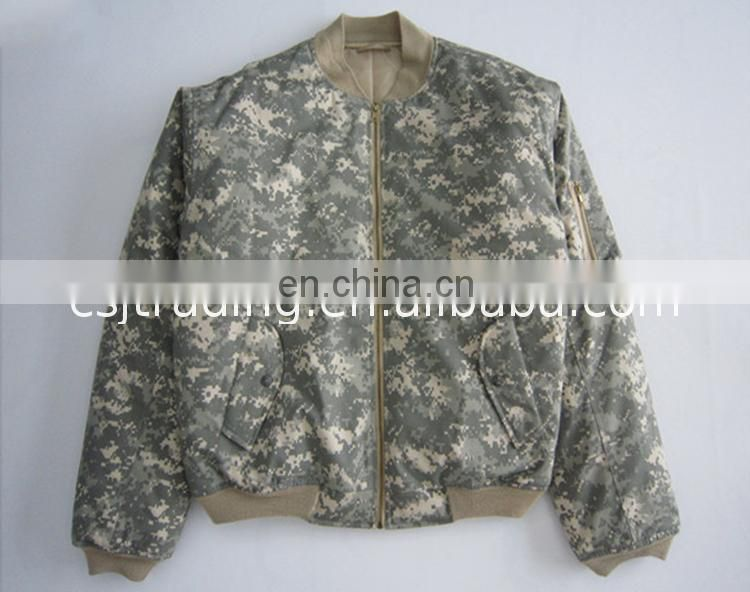 Factory price ma-1 bomber jacket flight air force military jackets / ma1