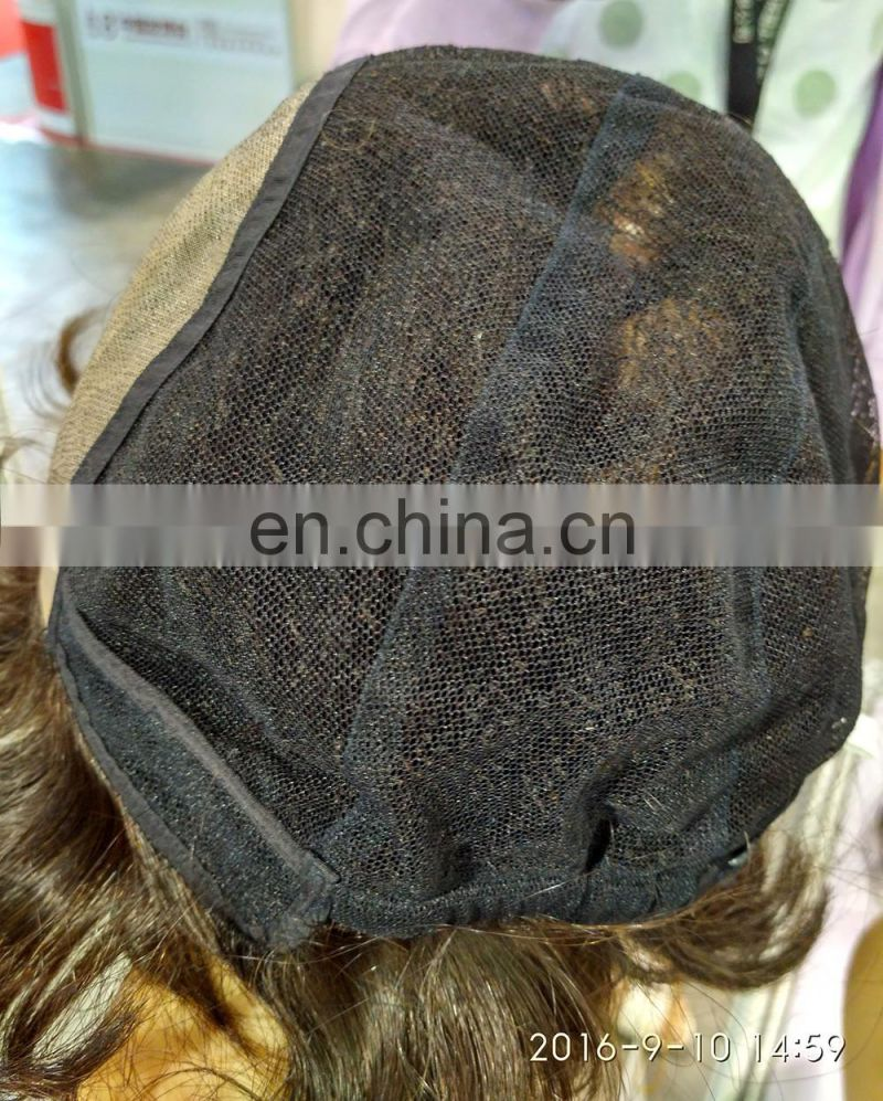 2016 New Fashion Short European Human Hair Jewish Kosher Wigs Styles