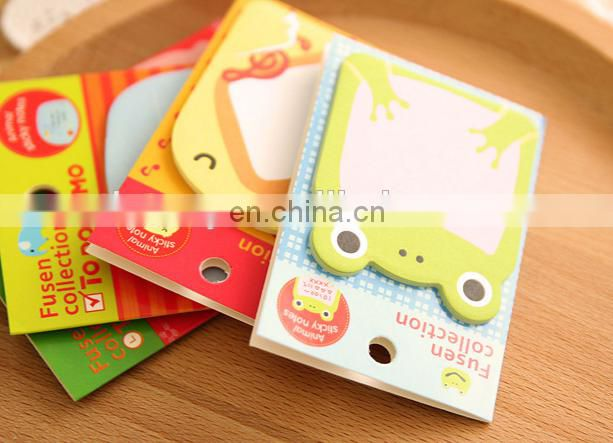 Animal Sticky Notes Self-stick Notes 8 Pad/Pack