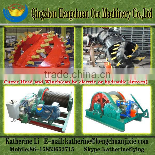 18 Inch Cutter Suction Gold Dredger
