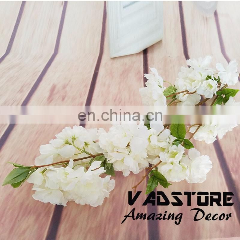 Artificial cherry blossom branch Flower Plant Home Wedding Party Decor big silk table wedding centerpiece flower