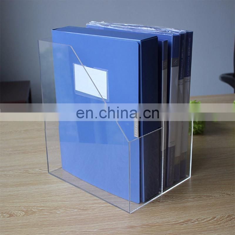 latest fashion clear pmma plexiglass acrylic document display holder