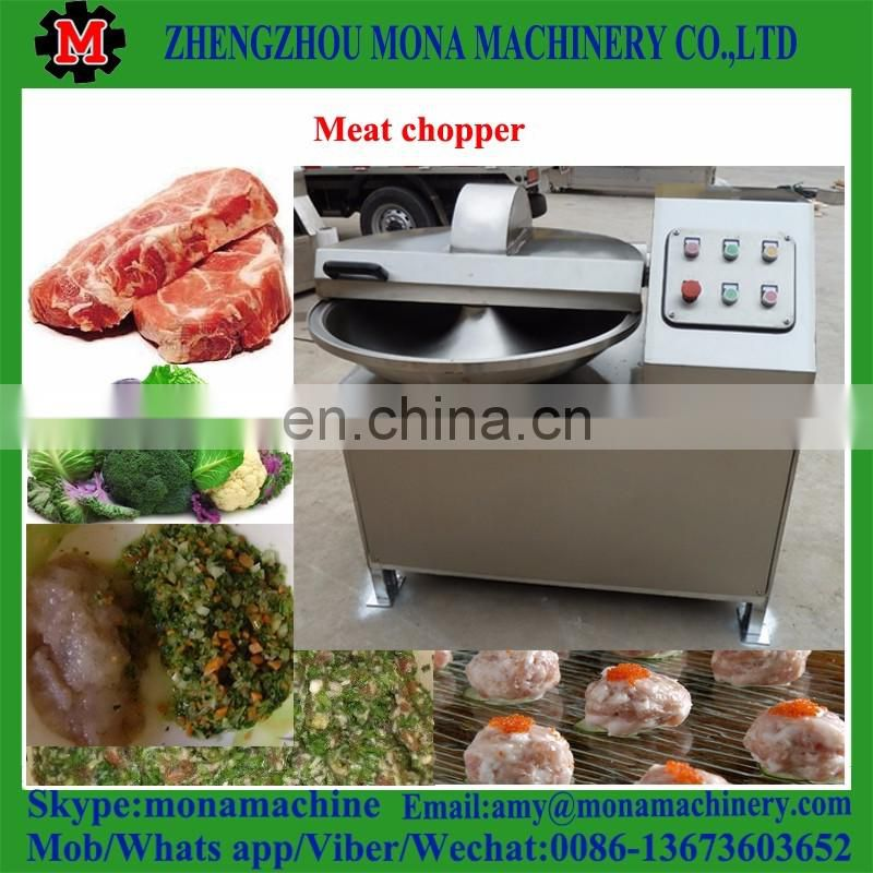 High quality 80L Meat Cutting Chopping Mixing Machine for Sausage Fish Vegetable