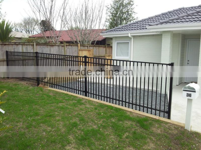 Hot sale top selling aluminum garden fence