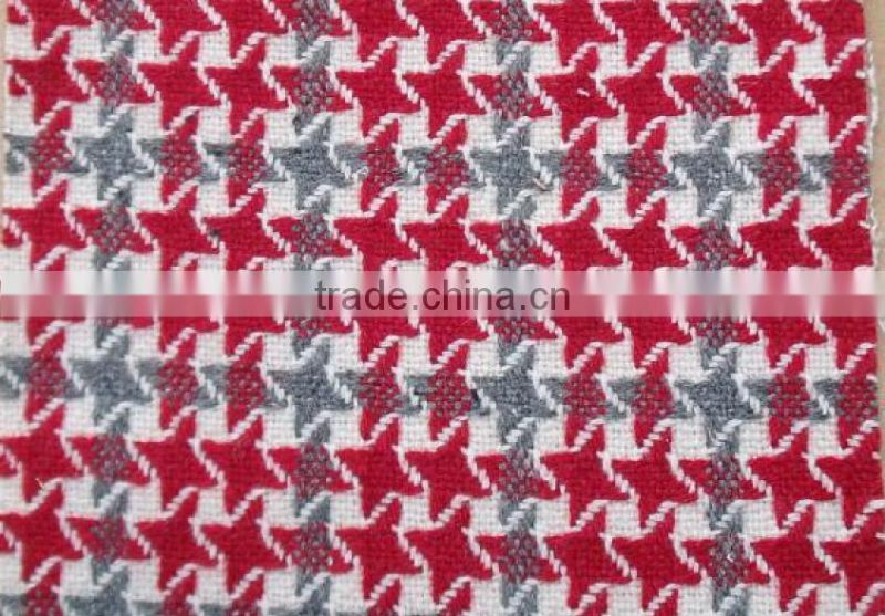 tweed fabric of high quality and comfotable feeling