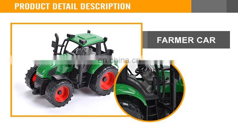 Hot Sale 15CM Friction Diecast truck Farmer truck diecast truck model