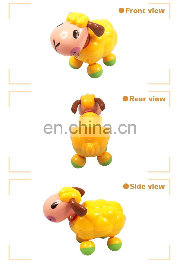 Best Gift Cartoon Sheep toy plastic with Certificates