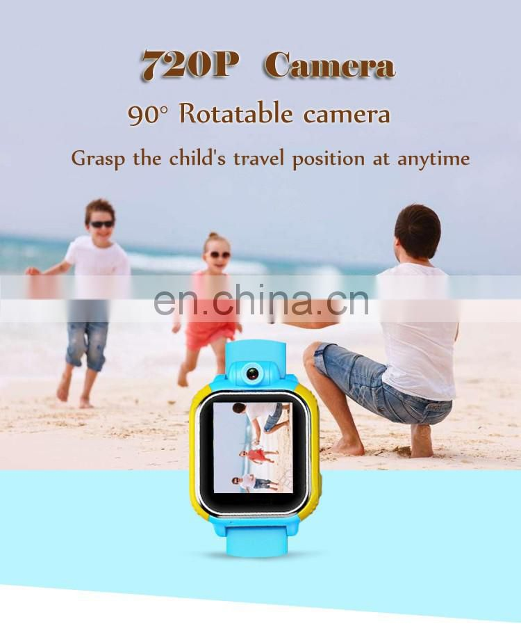 3G GPS Tracker for Children Sos Wearable Device Baby Watch JM08