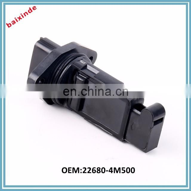 Automobile spare part mass air flow meter MAF sensor for NISSAN1 22680-4M500