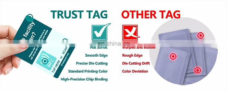 Beautiful Design ABS 13.56MHz Key Fob NFC Tag