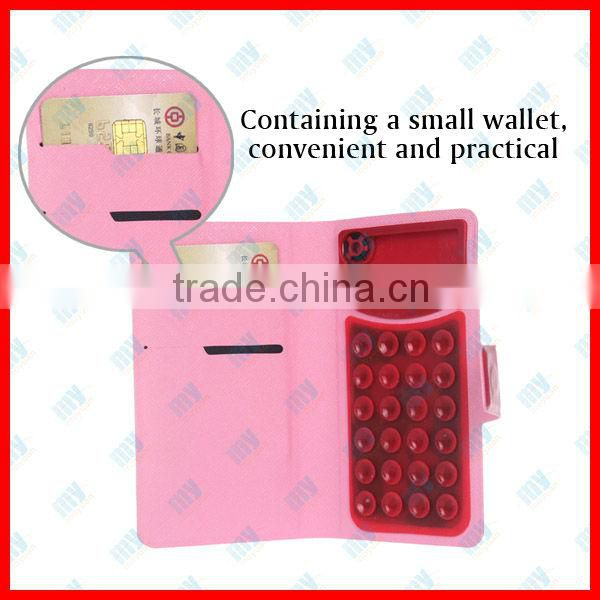 Cheappest ! Luxury Wallet Leather case for iphone 4 4s PU Original New Arrival with Stand + Card Holders Litchi Grain, 7 color