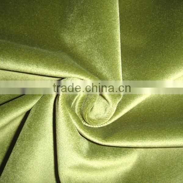 Haining Factory 100% Polyester Textile Super Soft Velvet Fabric And Textile For Upholstery