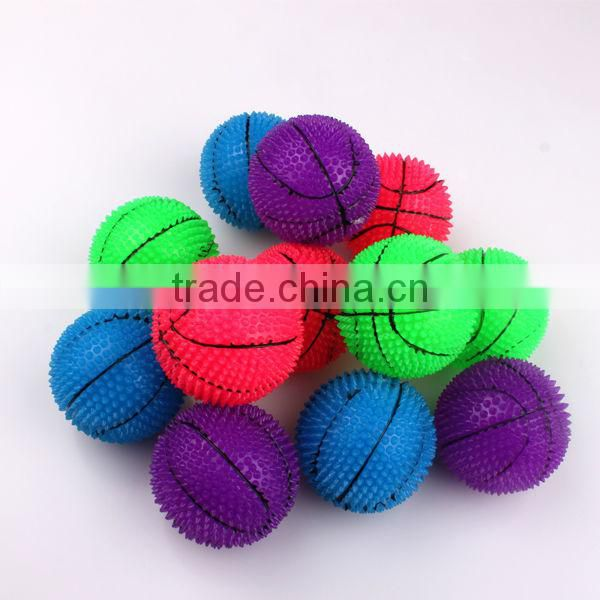 Dia 60mm bounce ball with Purple color